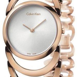Calvin Klein Body K4g23626 Kello Hopea / Punakultasävyinen