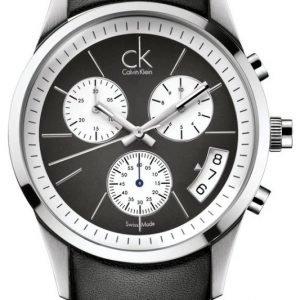Calvin Klein Bold K2247161 Kello Musta / Nahka