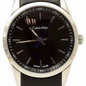 Calvin Klein Bold K5a311c1 Kello Musta / Nahka