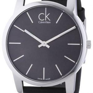 Calvin Klein City K2g21107 Kello Musta / Nahka