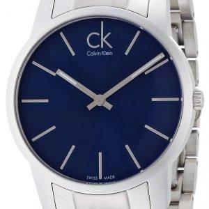 Calvin Klein City K2g2114n Kello Sininen / Teräs