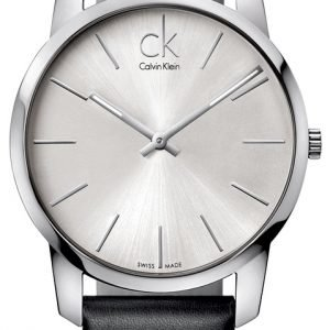 Calvin Klein City K2g211c6 Kello Hopea / Nahka