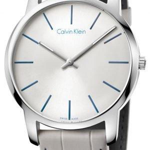 Calvin Klein City K2g211q4 Kello Hopea / Nahka