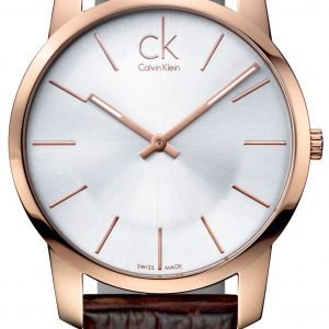 Calvin Klein City K2g21629 Kello Hopea / Nahka