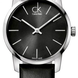 Calvin Klein City K2g23107 Kello Musta / Nahka