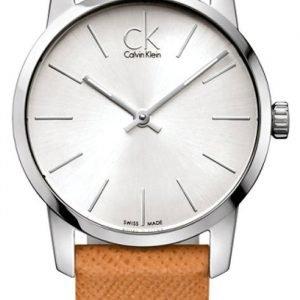 Calvin Klein City K2g23120 Kello Hopea / Nahka