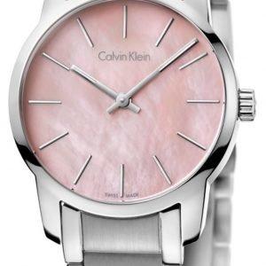 Calvin Klein City K2g2314e Kello Pinkki / Teräs