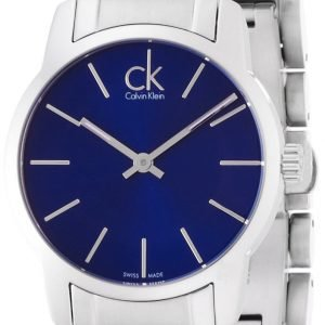 Calvin Klein City K2g2314n Kello Sininen / Teräs