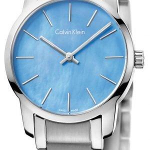 Calvin Klein City K2g2314x Kello Sininen / Teräs