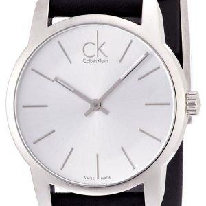 Calvin Klein City K2g231c6 Kello Hopea / Nahka