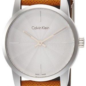 Calvin Klein City K2g231g6 Kello Hopea / Nahka