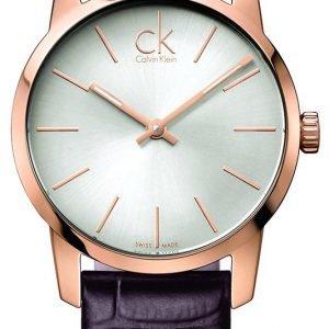 Calvin Klein City K2g23620 Kello Hopea / Nahka