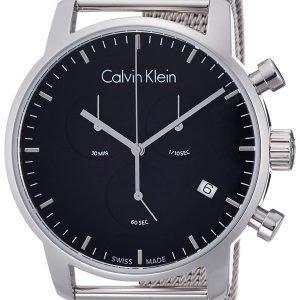 Calvin Klein City K2g27121 Kello Musta / Teräs
