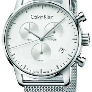 Calvin Klein City K2g27126 Kello Hopea / Teräs