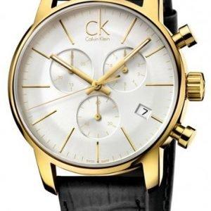Calvin Klein City K2g275c6 Kello Hopea / Nahka