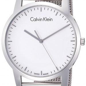 Calvin Klein City K2g2g126 Kello Valkoinen / Teräs