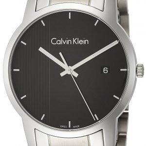 Calvin Klein City K2g2g14y Kello Musta / Teräs