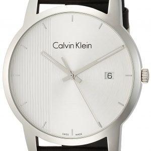 Calvin Klein City K2g2g1cx Kello Hopea / Nahka
