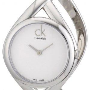 Calvin Klein Classic K2l24120 Kello Valkoinen / Teräs