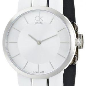 Calvin Klein Classic K2r2m1k6 Kello Hopea / Nahka