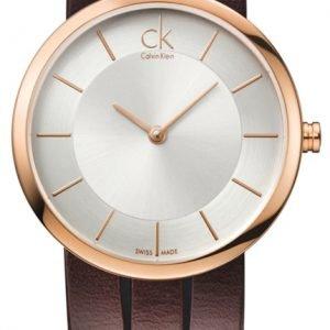 Calvin Klein Classic K2r2m6g6 Kello Hopea / Nahka