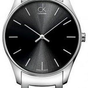 Calvin Klein Classic K4d21141 Kello Musta / Teräs