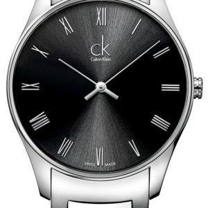 Calvin Klein Classic K4d2114y Kello Musta / Teräs
