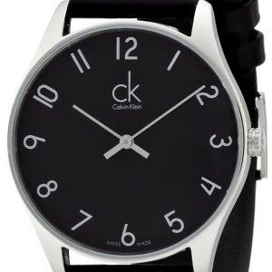 Calvin Klein Classic K4d211cx Kello Musta / Nahka