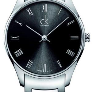 Calvin Klein Classic K4d2214y Kello Musta / Teräs