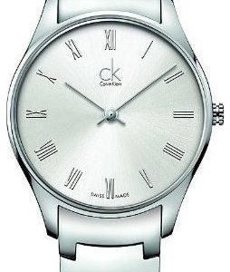 Calvin Klein Classic K4d2214z Kello Valkoinen / Teräs