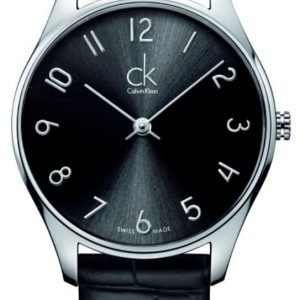 Calvin Klein Classic K4d221cx Kello Musta / Nahka