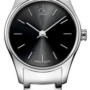 Calvin Klein Classic K4d23141 Kello Musta / Teräs