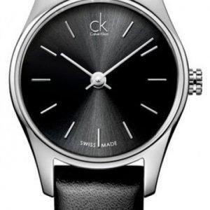 Calvin Klein Classic K4d231c1 Kello Musta / Nahka