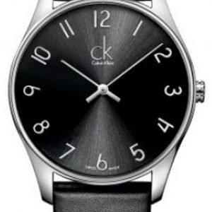 Calvin Klein Classic K4d231cx Kello Musta / Nahka