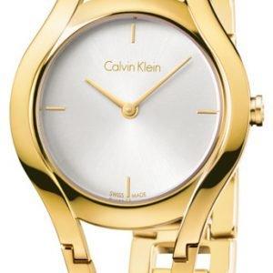 Calvin Klein Classic K6r23526 Kello Hopea / Kullansävytetty