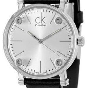 Calvin Klein Cogent K3b231c6 Kello Hopea / Nahka