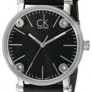 Calvin Klein Cogent K3b2t1c1 Kello Musta / Nahka