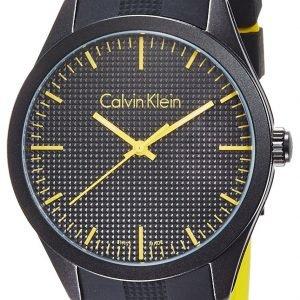 Calvin Klein Color K5e51tbx Kello Musta / Kumi