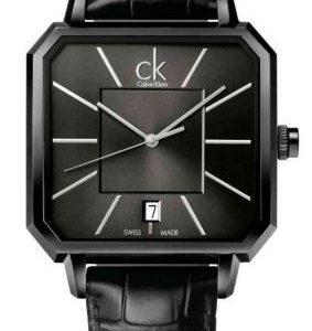 Calvin Klein Concept K1u21402 Kello Musta / Nahka