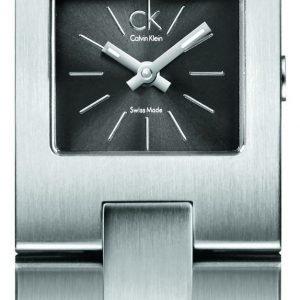 Calvin Klein Dress K0213107 Kello Musta / Teräs