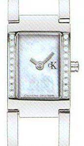 Calvin Klein Dress K0421381 Kello Valkoinen / Teräs