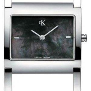 Calvin Klein Dress K0428183 Kello Musta / Teräs