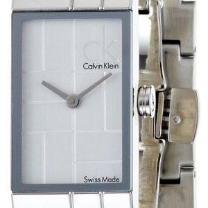 Calvin Klein Dress K0j23120 Kello Hopea / Teräs