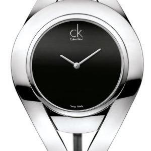 Calvin Klein Dress K1b23102 Kello Musta / Nahka