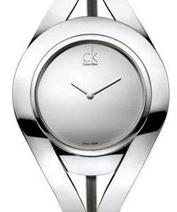 Calvin Klein Dress K1b33108 Kello Hopea / Nahka