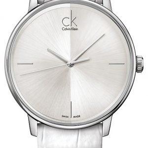 Calvin Klein Dress K2y2x1k6 Kello Hopea / Nahka