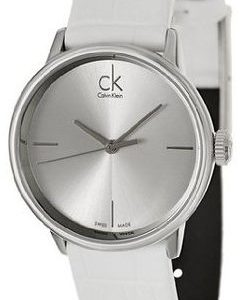 Calvin Klein Dress K2y2y1k6 Kello Hopea / Nahka