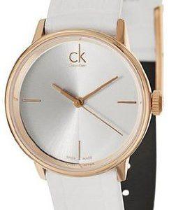 Calvin Klein Dress K2y2y6k6 Kello Hopea / Nahka