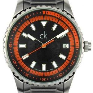 Calvin Klein Dress K3211678 Kello Musta / Teräs