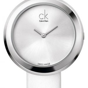 Calvin Klein Dress K3n231l6 Kello Hopea / Nahka